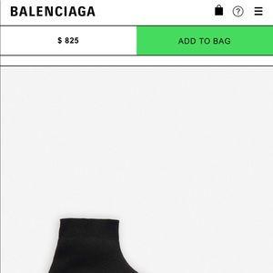 Balenciaga Shoes - Balenciaga speed trainers 7
